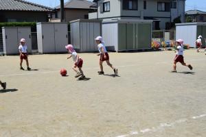 サッカー教室2日目1