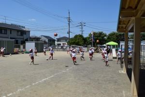 サッカー教室2日目2