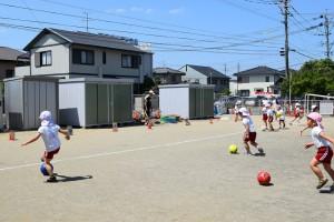 サッカー教室2日目3