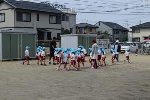 サッカー教室3日目
