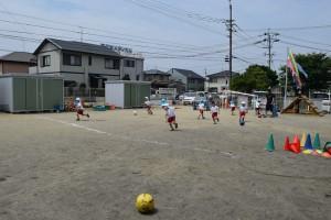 サッカー教室3日目4