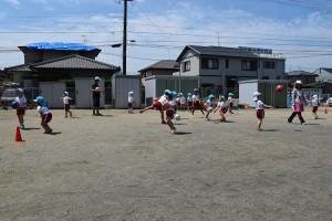 サッカー教室4回目