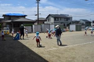 サッカー教室4回目9