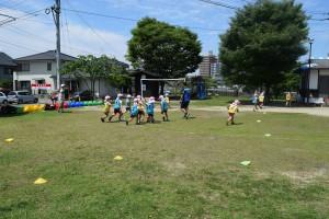 サッカー教室4回目5