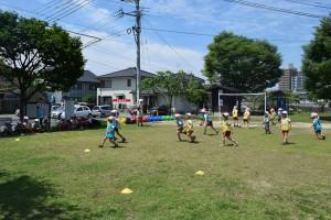 サッカー教室4回目7