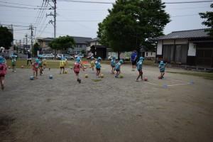 サッカー教室2日目5