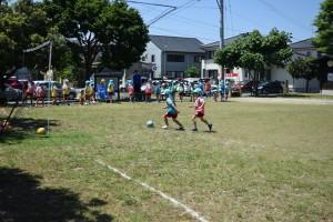 サッカー教室3日目1