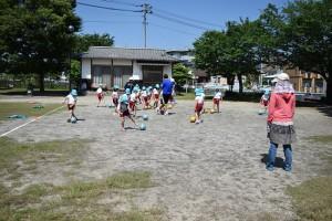 サッカー教室3日目3