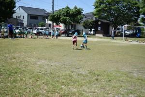 サッカー教室3日目5