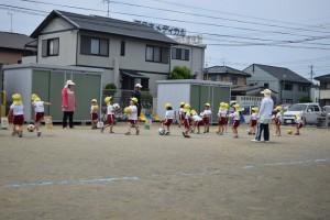 サッカー教室4日目3