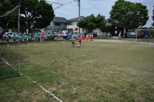 サッカー教室4日目5