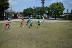サッカー教室4日目6