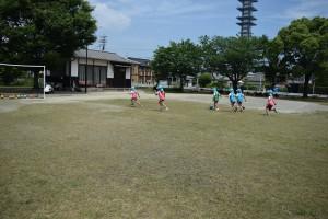 サッカー教室4日目7